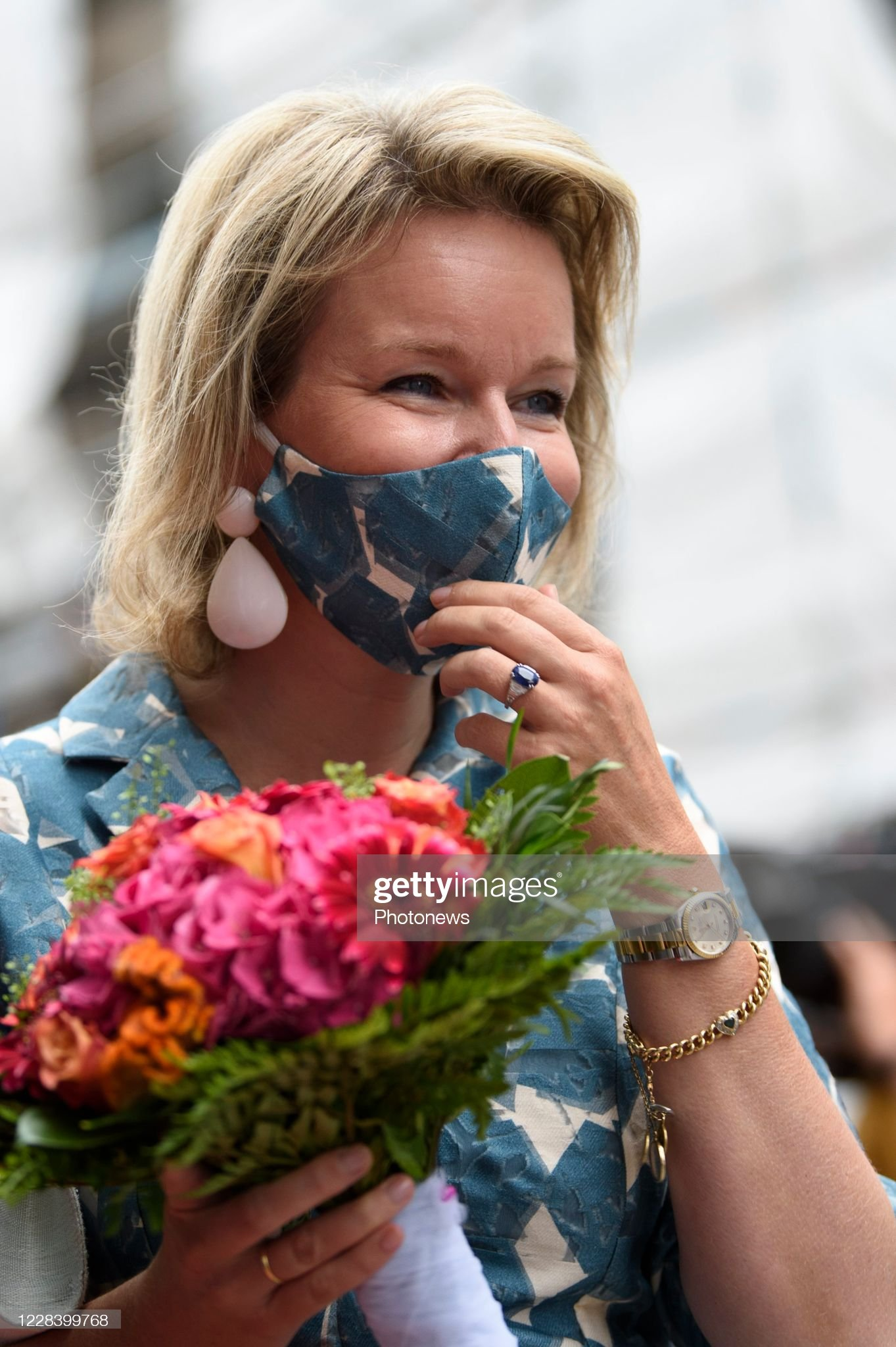 opening-of-the-new-wikifin-lab-in-the-presence-of-the-queen-mathilde-picture-id1228399768