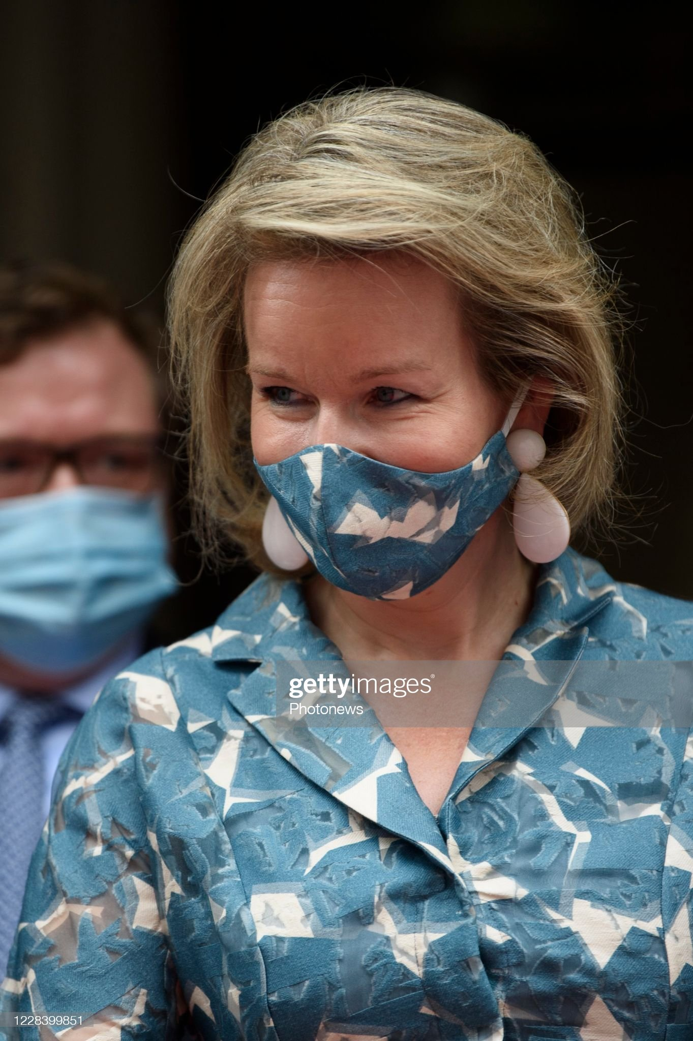 opening-of-the-new-wikifin-lab-in-the-presence-of-the-queen-mathilde-picture-id1228399851