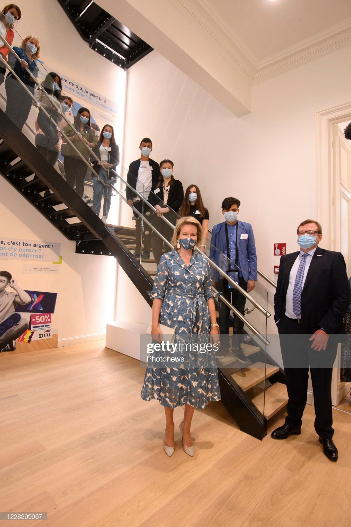opening-of-the-new-wikifin-lab-in-the-presence-of-the-queen-mathilde-picture-id1228399967