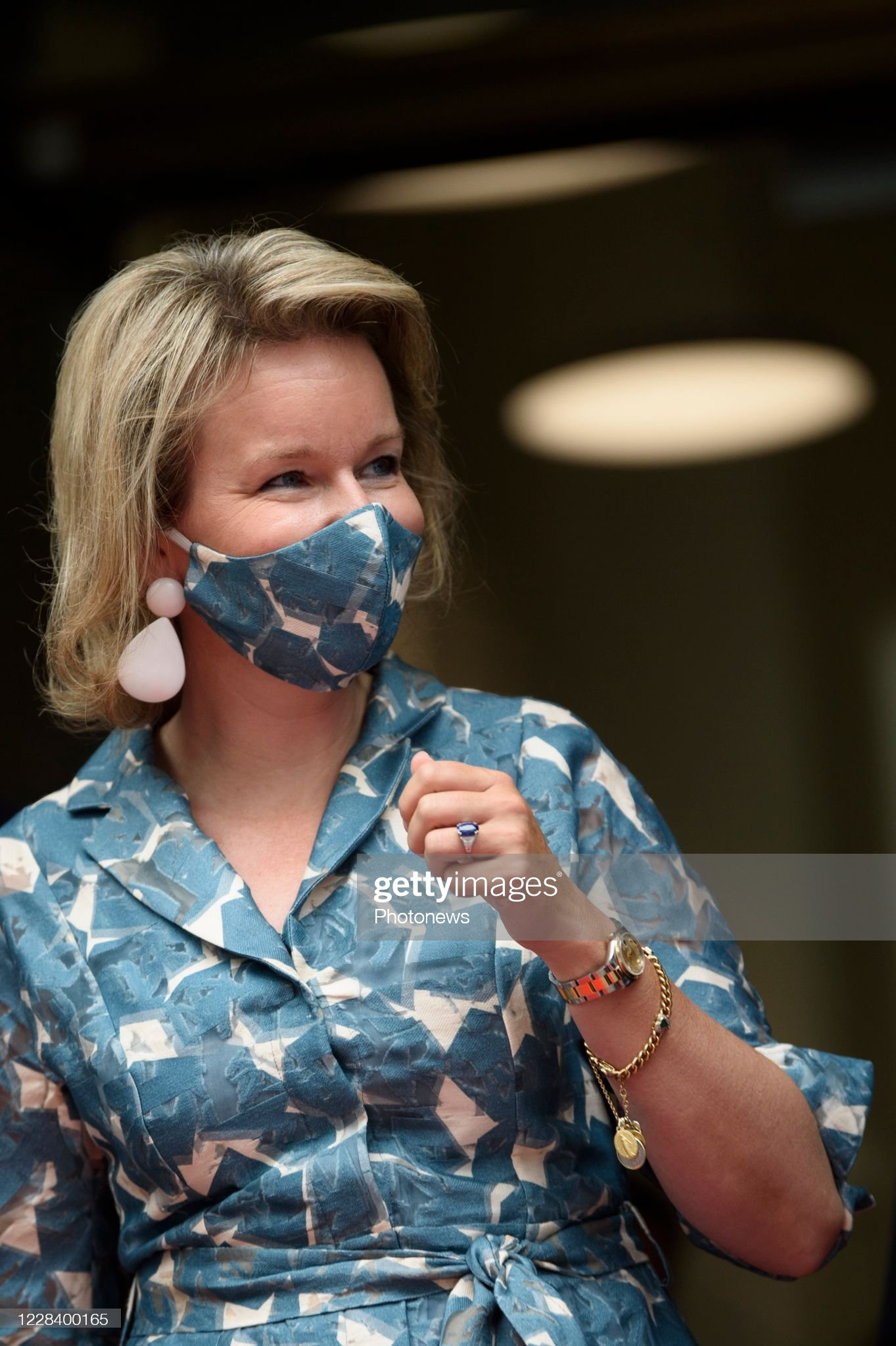 opening-of-the-new-wikifin-lab-in-the-presence-of-the-queen-mathilde-picture-id1228400165
