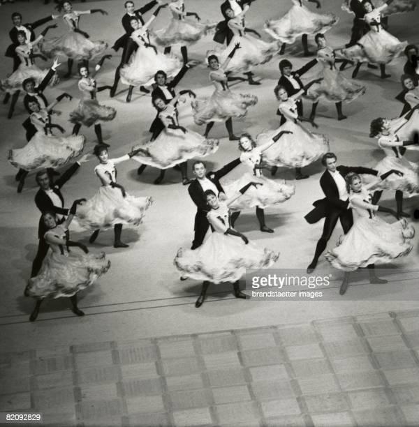 Opening of the Opera Ball Vienna Photography Around 1970 [Die Erffnung des Wiener Opernballs in der Wiener Staatsoper Photographie Um 1970]