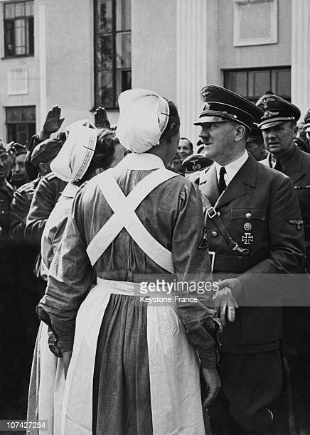 Opening Of The Red Cross Campaign By The Fuhrer In Germany On May 10Th 1943