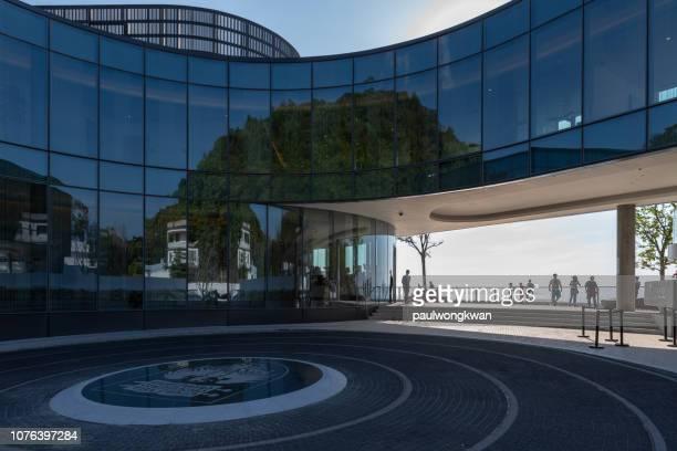 香港のシカゴ大学キャンパスの開設 - シカゴ大学 ストックフォトと画像