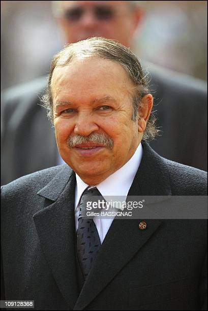 Opening Of The Xth French Speaking Summit Arrival Of The Heads Of States On November 26 2004 In Ouagadougou Burkina Faso Abdelaziz Bouteflika...
