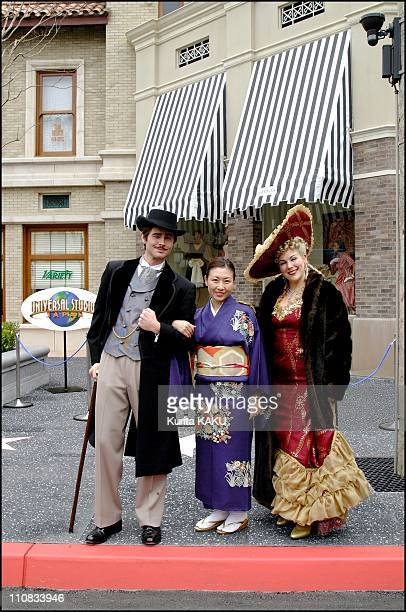 Opening Of Universal Studios Japan In Osaka Japan On March 30 2001 Universal Studios Japan to mark historic International Expansion of World's most...