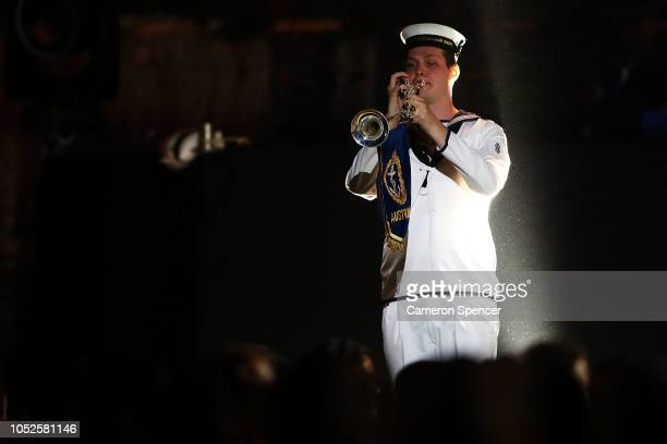 Opening performance during the Invictus Games Sydney 2018 Opening Ceremony at Sydney Opera House on October 20 2018 in Sydney Australia