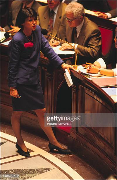 Opening session at the French National Assembly On June 5th 1991 In Paris France