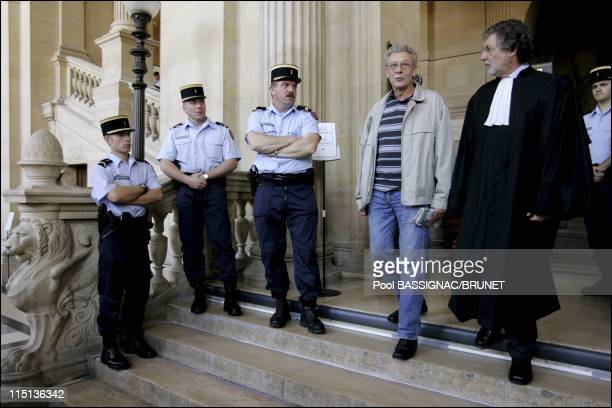 Opening the trial on appeal from the Outreau case after a brief reference with the presence of the defendants who appear free in Paris France on...
