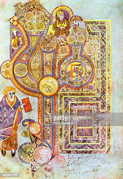 Opening words of St Matthew's Gospel Liber Generationes from The Book of Kells c800 century The Book of Kells is a manuscript of the Four Gospels...