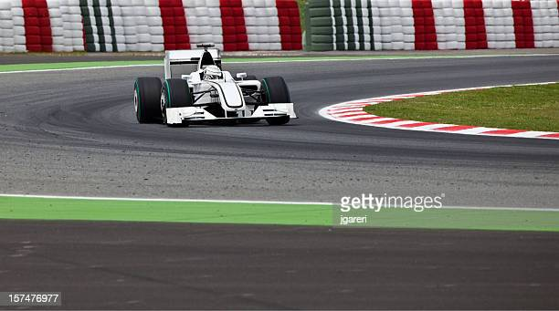 open-wheel racecar - motorsport stock pictures, royalty-free photos & images