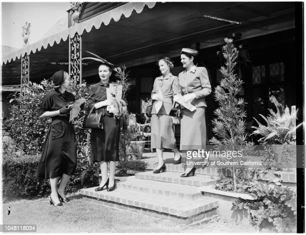 Opera 6 September 1951 Mrs Ralph P CousinsMrs Thomas BrantMrs Edward W CarterMrs Alfred WrightMrs Frederic SturdyMrs Henry SalvatoriMrs John...