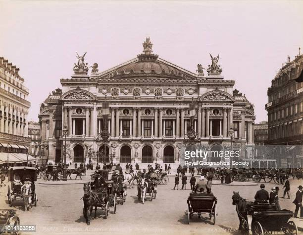 L' Opera Academie Nationale de Musique Paris There is no official date for this image possibly taken c 1900 France 1900