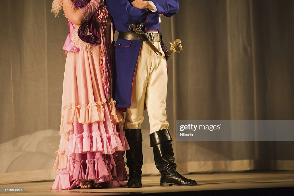 Opera at the stage : Stock Photo