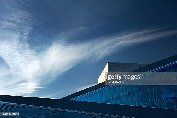 opera building. - oslo stock pictures, royalty-free photos & images