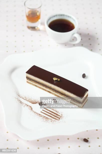 'Opera' Chocolate Coffee Cake