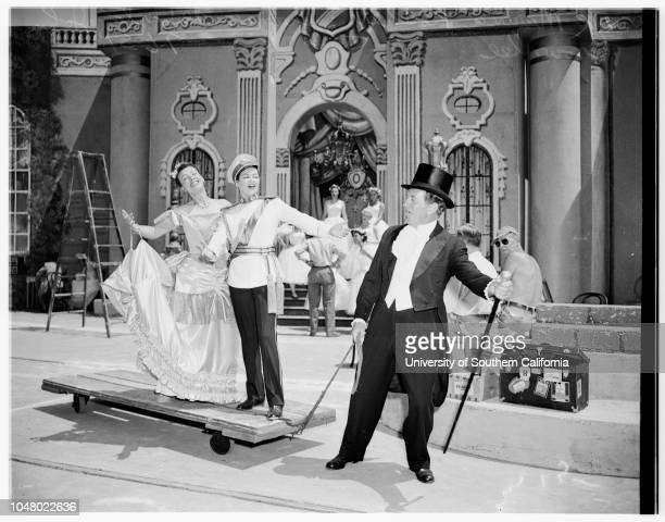 Opera Die Fledermaus July 6 1951 Eugenia PopofBerrie ChaseNancy KilgasFlorence BrundageJoan CollenetteDarlene EngleNathlie ChristianDonald DameMarina...