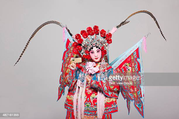 opera figures - chinese opera stock photos and pictures