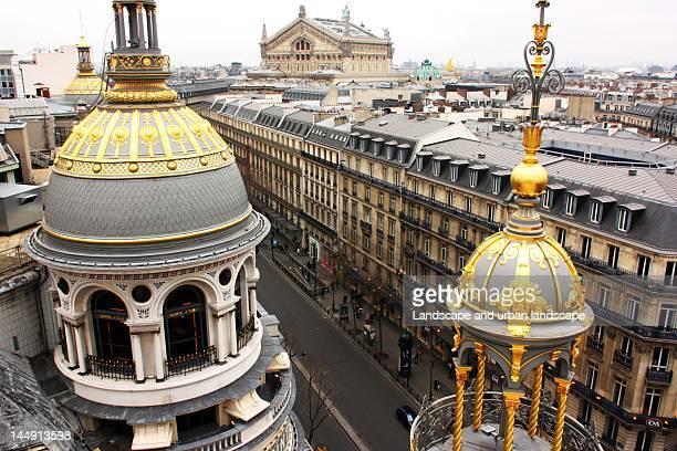 opera garnier paris - opernhaus palais garnier stock-fotos und bilder