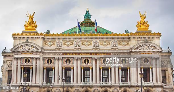 opera garnier, paris. - opernhaus palais garnier stock-fotos und bilder