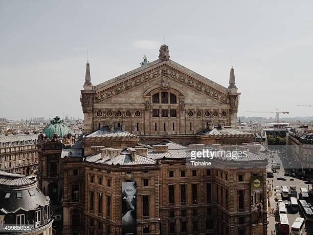 opera garnier - opernhaus palais garnier stock-fotos und bilder