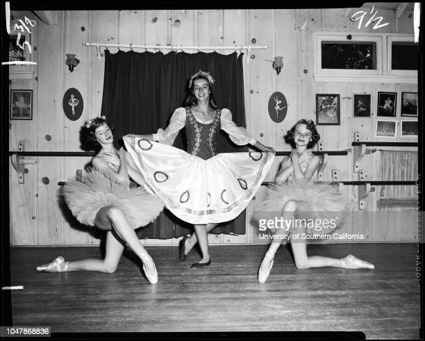 Opera group sets cultural milestone 11 November 1956 Pamela Marlow 14Barbara Footitt 16Peggy Schuerman 14Mrs Moley DeakensLoretta DaleYvette...