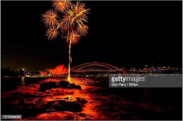 Opera House & Sydney Harbour Bridge @ The Chinese New Year