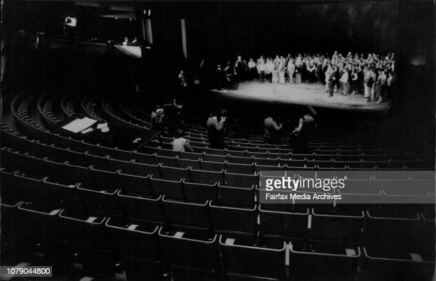 Opera House Australian Opera Companies 25th BirthdayThe Australian Opera company all gathered on stage to sing happy birth day to themselves and...