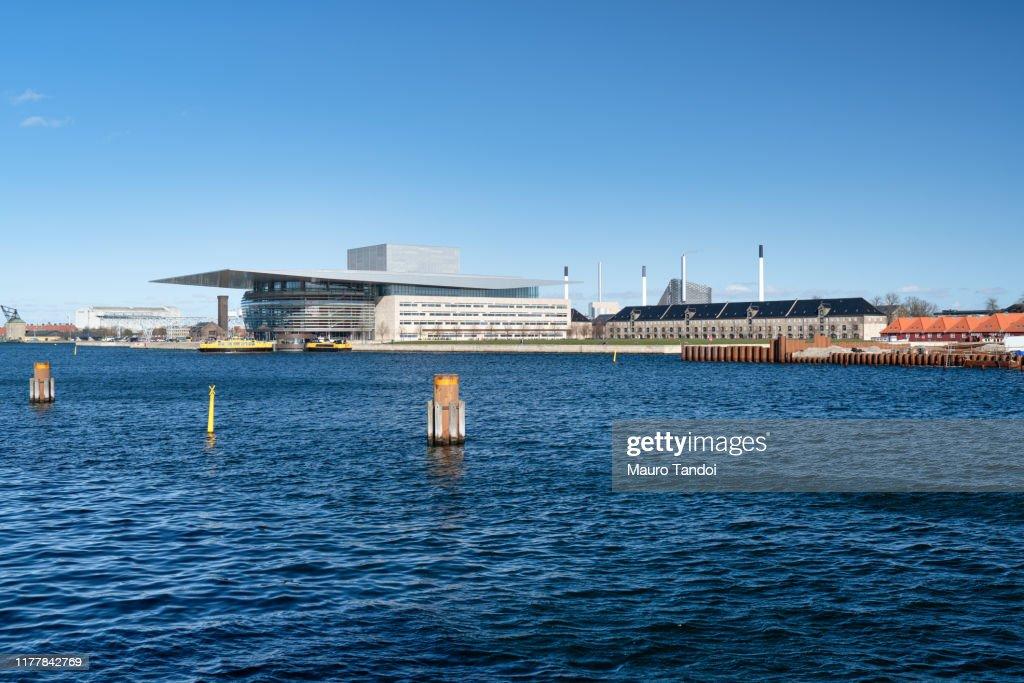 Opera House, Copenaghen, Denmark : Foto stock