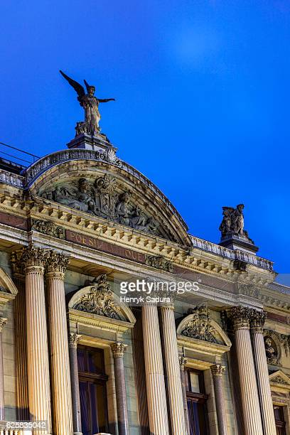 opera house in geneva - grand theatre de geneve stock pictures, royalty-free photos & images