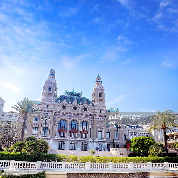 opera house, monaco - monaco stock pictures, royalty-free photos & images