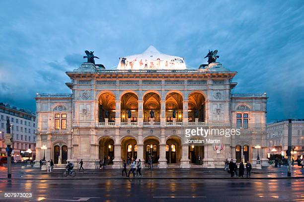 opera house - vienna state opera stock pictures, royalty-free photos & images