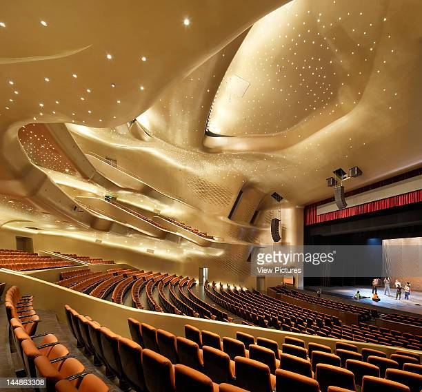 Zaha Hadid Guangzhou Opera House Zaha Hadid Architects Guangzhou China Main Auditorium
