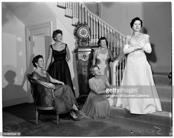Opera layout 26 August 1953 Mrs William E TavernerMrs Charles I HoughtonDorothy WarrenskjoldMrs Clement AtwaterMRs Jack F RayMrs Nicholas TruhanieMrs...