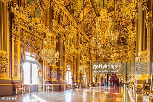 Opera (Opera House) National de Paris, or Palais (palace) Garnier, the Grand Foyer