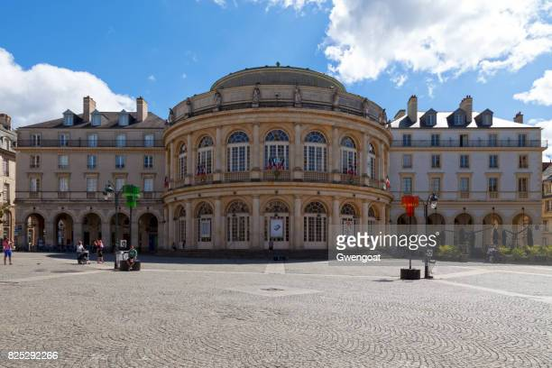 Opera of Rennes in Brittany