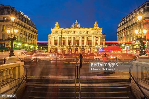 opera palace - opernhaus palais garnier stock-fotos und bilder