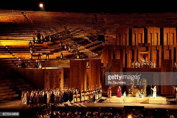Opera Performance at Arena di Verona