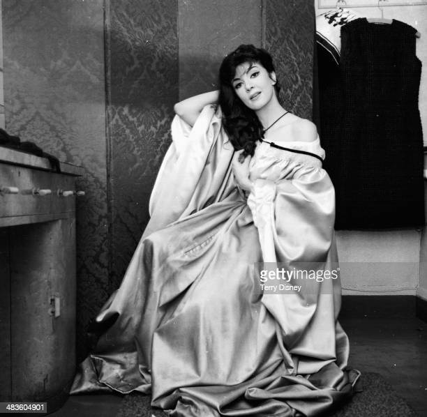 Opera singer Anna Moffo in a posed portrait January 31st 1964