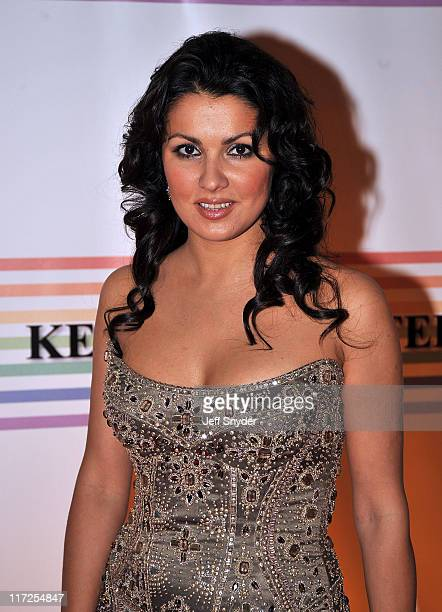 Opera singer Anna Netrebko arriving at The 30th Kennedy Center Honors on December 2 in Washington DC The 2007 honorees are pianist Leon Fleisher...