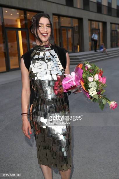 """Opera singer Asmik Grigorian at the premiere of """"Elektra"""" during the opening of the Salzburg Festival 2020 at Salzburg State Theatre on August 1,..."""