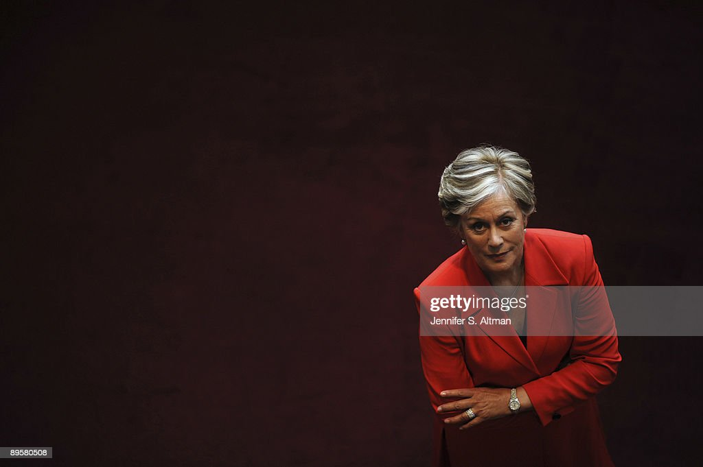 Opera Singer Dame Kiri Te Kanawa poses for a portrait session at the Metropolitan Opera House of New York in June 2009, New York, NY (Photo by Jennifer Altman/Contour by Getty Images).