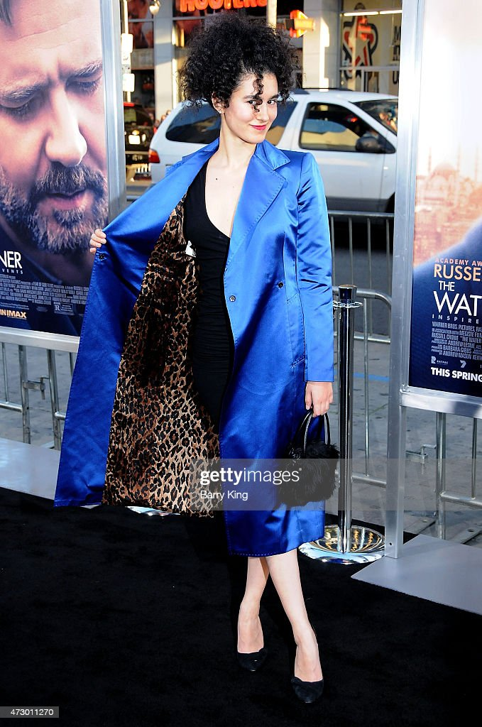 Opera Singer Delaram Kamareh attends the premiere of 'The Water Diviner' at TCL Chinese Theatre IMAX on April 16, 2015 in Hollywood, California.