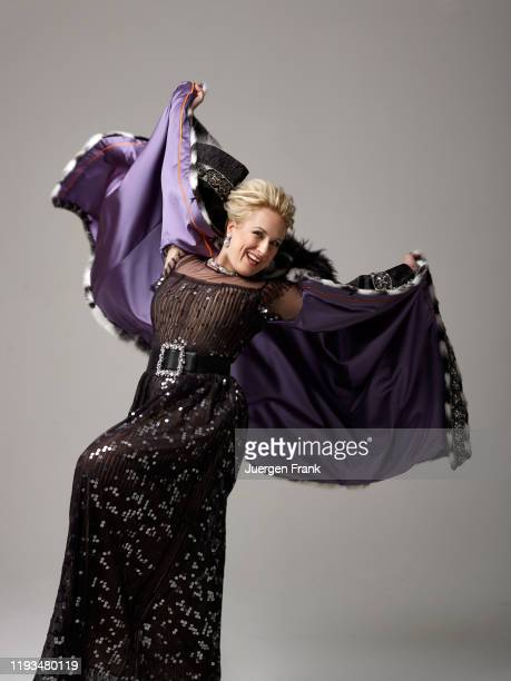Opera singer Diana Damrau is photographed for Festspielhaus BadenBaden on December 18 2016 in New York City