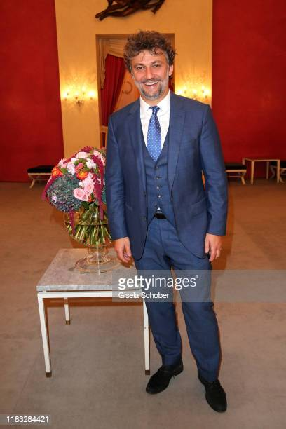 Opera singer Jonas Kaufmann at the opera premiere of Die tote Stadt by Erich Wolfgang Korngold at Bayerische Staatsoper on November 18 2019 in Munich...