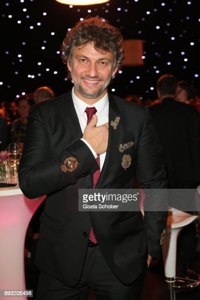 Opera singer Jonas Kaufmann during the 23th annual Jose Carreras Gala after party at Bavaria Filmstudios on December 14, 2017 in Munich, Germany.
