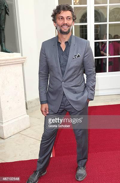 Opera singer Jonas Kaufmann during the 'Die Goldene Deutschland' Gala on July 26 2015 at Cuvillies Theater in Munich Germany