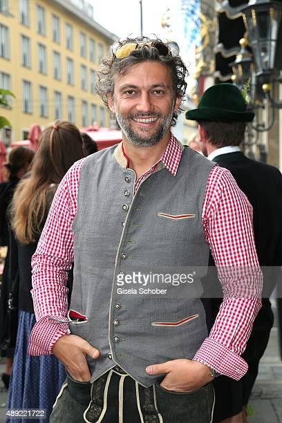 Opera Singer Jonas Kaufmann during the 'Fruehstueck bei Tiffany' at Tiffany Store ahead of the Oktoberfest 2015 on September 19 2015 in Munich Germany