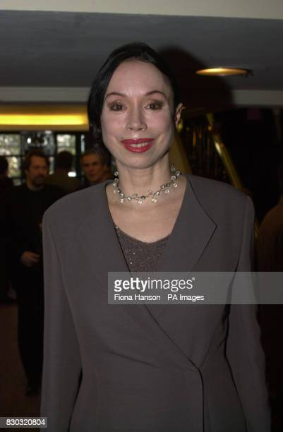 Opera singer Maria Ewing after arriving at The Savoy in London for the South Bank Show awards