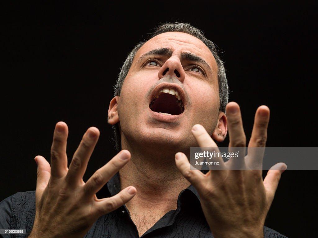 Opera singer : Stock Photo