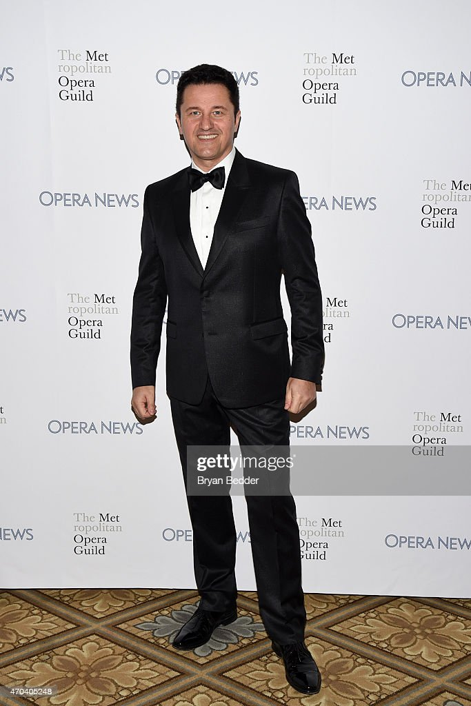 Opera Singer Piotr Beczala attends the 10th Annual Opera News Awards at The Plaza Hotel on April 19, 2015 in New York City.
